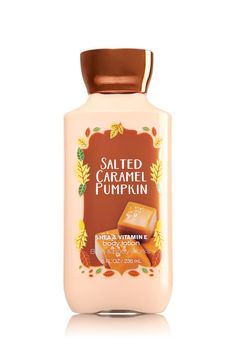 Bath & Body Works Body Lotion in Salted Caramel Pumpkin Bath & Body Works Launched an Obscene Number of Pumpkin Products and You Need Them All Bath Body Works, Bath N Body, Bath And Body Works Perfume, Neutrogena, Perfume Lady Million, Bath And Bodyworks, Fall Scents, Body Mist, Body Lotions