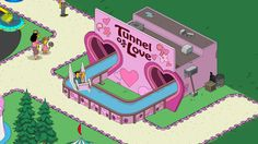 The Simpsons Tapped Out - My Springfield - Krustyland - Tunnel of Love