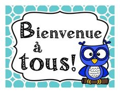 Les posters de bienvenue - French welcome posters Welcome Poster, French Immersion, France, Kindergarten, Classroom, Posters, Teachers, Speak French, Welcome