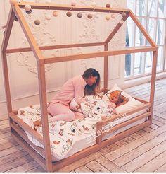 Interior Living Room Design Trends for 2019 - Interior Design Baby Bedroom, Baby Room Decor, Nursery Room, Boy Room, Girls Bedroom, Diy Toddler Bed, Toddler Rooms, Little Girl Bedrooms, Big Girl Rooms