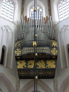 Naarden - Grote Kerk, choir organ