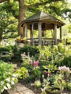 My inner landscape - yellowrose543: Garden gazebo