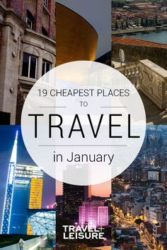 The Cheapest Places to Visit in January The 19 Cheapest Places to Travel in January - Here's exactly where to go to get the most bang for your buck in January. Cheap Places To Visit, Cheap Places To Travel, Places To See, Best Places To Vacation, Best Vacations, Best January Vacations, Family Vacations, Cruise Vacation, Disney Cruise