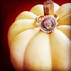 Spooky Pumpkin just on time for Halloween #mimoneda #interchangeable #Bling #becauseyourworthit