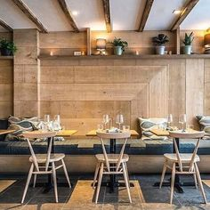 Our Stacking Chairs sitting in nicely to the new Ferris Restaurant in New York. A 1950s design looking as fresh as ever. Don't forget you can visit our showroom at 50 Greene Street during working hours. Thanks to @ferrisnewyork and @paletteparlor by @noahfecksisawesome