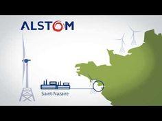 Premières usines de production d'éoliennes en France - Communiqué de presse - Alstom