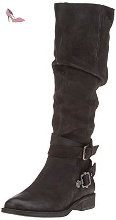 SPM Usa High Boot, Bottes Cavalières femme - noir - Schwarz (Black),