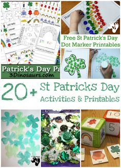 20+ St Patrick's Day Printables & Activities