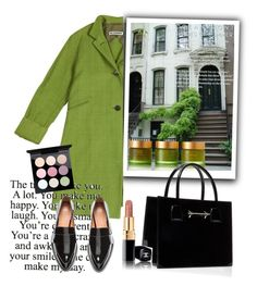 """Green and black"" by tiraboschi-b on Polyvore featuring moda, Tiffany & Co., Jil Sander, Tata Harper e H&M"
