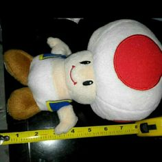 Toad plush 8 inches tall . Mario bros Other