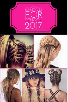 It's that time of year again! Check out a few of my favorite 2017 hairstyles for school and the tutorials on how to do them. The first one...