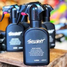 The new Lush Twilight body spray could help you drift off