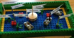 Lego version of a plant cell