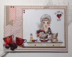 Kirstens Hobbyblogg: Bursdagskort