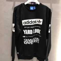 23181d42cd5083 ADIDAS GRAPHIC YARD LOOK 3 STRIPES CREW NECK SWEATSHIRT CD1717  sneakers   sports  sporf  adidasmurmer  nikeroshe  nikemurah  conversemurah   vansmurah  jual ...