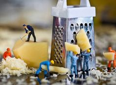 Photographer makes awesome photos using small figurines.