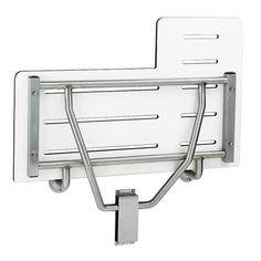 bobrick reversible folding shower seat