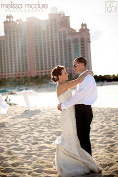 Melissa Mcclure Photography Bahamas Atlantis Nau Wedding Sunset Beach Weddings Carnival