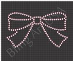 Bow Pack Rhinestone Design Template Download