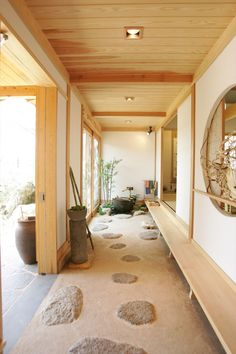 Japanese Style House, Japanese Interior Design, Asian Interior, Japanese Home Decor, Japanese Design, Interior Exterior, Japanese Architecture, Interior Architecture, Zen House