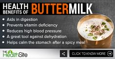 Here's another reason to enjoy buttermilk! Vitamin Deficiency, Reducing High Blood Pressure, Spicy Recipes, For Your Health, Fruits And Vegetables, Ayurveda, Turmeric, Health Benefits, Vitamins