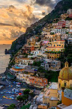 Positano, Italy #italytravel