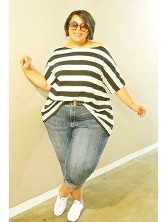 Plus Size Blog, Avenue, JIBRI, casual outfit, plus size clothes