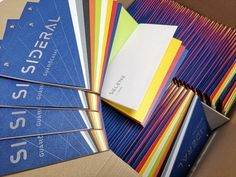 ¡Mirad el resultado final del catálogo #Sideral! Os habíamos avanzado los colores y ya nos encantaban, pero verlos todos juntos en este recopilatorio creado por @otzarreta.think.and.make es impresionante 😍🙌 Notebook, Be Awesome, Impressionism, Create, Colors, Notebooks, Scrapbooking