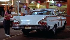 American Graffiti, Teen Movies, Car Ins, Vehicles, Tv, Rolling Stock, Vehicle, Television Set, Television