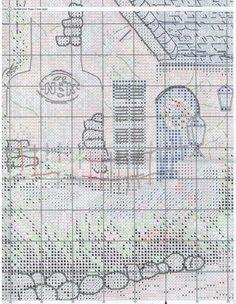 Stickerei Schema Morning Glory Cottage (Anker) 5 Von 6