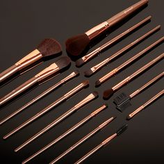 BH Cosmetics Rose Gold Brush Set