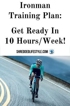 Ironman Training Plan: Get Ready In 10 Hours/Week! Ironman Triathlon, Triathlon Training, Training Plan, How To Run Faster, How To Run Longer, Work Motivation, Fitness Motivation, Hotel Room Workout, Triathlon Swimming