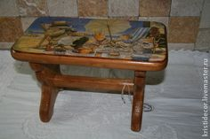 """Детская ручной работы. Ярмарка Мастеров - ручная работа Детская скамейка """"Пикник"""". Handmade."""