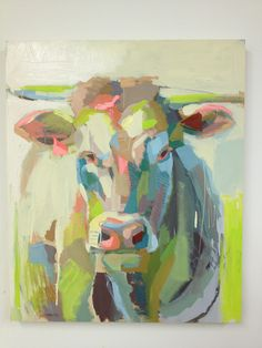 This painting will be auctioned off for Palmetto Medical Initiative tonight! Contact me if you'd like to bid remotely! Art And Illustration, Farm Art, Cow Art, Animal Paintings, Painting Inspiration, Painting & Drawing, Art Projects, Art Photography, Abstract Art