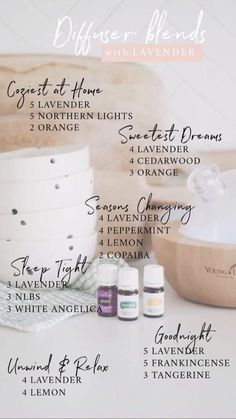 Diffuser blends with young living lavender essential oil. Young Essential Oils, Essential Oils Guide, Doterra Essential Oils, Yl Oils, Doterra Oils For Sleep, Cedarwood Essential Oil Uses, Valor Essential Oil, Essential Oil Spray, Essential Oils For Sleep