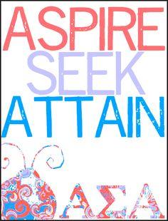Aspire.Seek.Attain