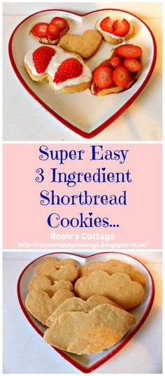 Super Easy Super Yummy 3 Ingredient Recipe For Scottish Shortbread Cookies