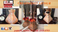 VAMOS HACER UN JARRON ESTILO MARRUECO,ELEGANTE UN JARRON DE ENSUEÑOY VAMOS HACERLO REALIDAD Búscame en mis redes sociales Pagina de Facebook https://www.face...