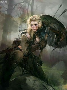 Lagertha - Vikings tv show.