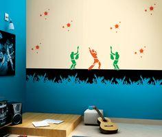 Theme Battle in the sky Kids Room Inspirations Pinterest