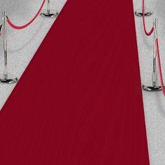 Läufer Red Carpet, dunkelrot