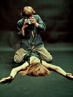 Veruschka von Lehndorff, David Hemmings - Blow-Up (Michelangelo Antonioni, 1967)…