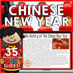 Digital Chinese New Year Activities 2021 | Google Slides | Year of the Ox