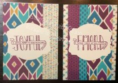 banner blessings note cards