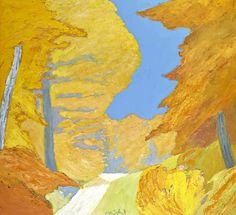 ROGER MÜHL (1929-2008) Parc en automne