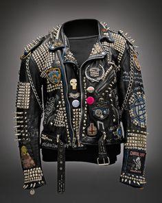 Great personalized punk-style jacket