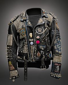 Great personalized punk-style jacket