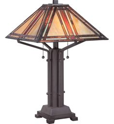 Quoizel - TF1672TWT - Tiffany Western Bronze Table Lamp