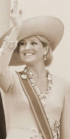 role model Queen Maxima of the Netherlands - she originally Is from Argentina, but her ethnic background includes Italian and Portuguese. She is radiant!