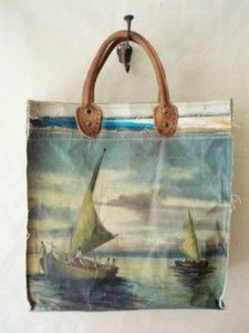 totes from vintage paintings | leslie oschmann | swarmhome